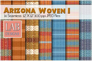 16 Southwest Woven Fabric Textures