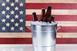 Bucket of Cold Beer for the Holiday