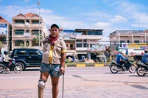 Cambodian Beggar
