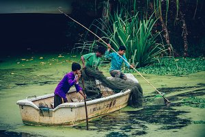 Cambodian Fishermen