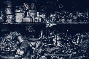 Greasy Metal Parts