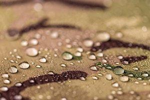 Waterproof camouflage cloth