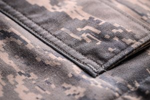 Camouflage shirt pocket