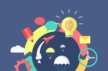 Generation of Ideas Banner Design