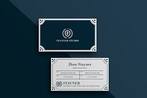 Elegant Business card #43
