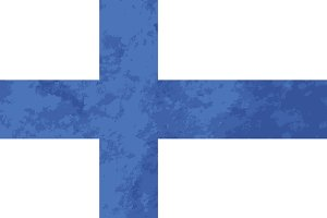 True proportions Finland flag