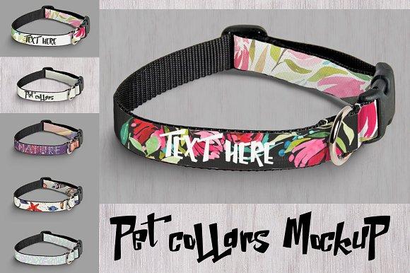 Download Mockup pet collars