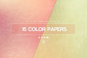15 Color Papers