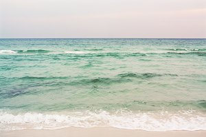 Seaside Ocean at Dusk