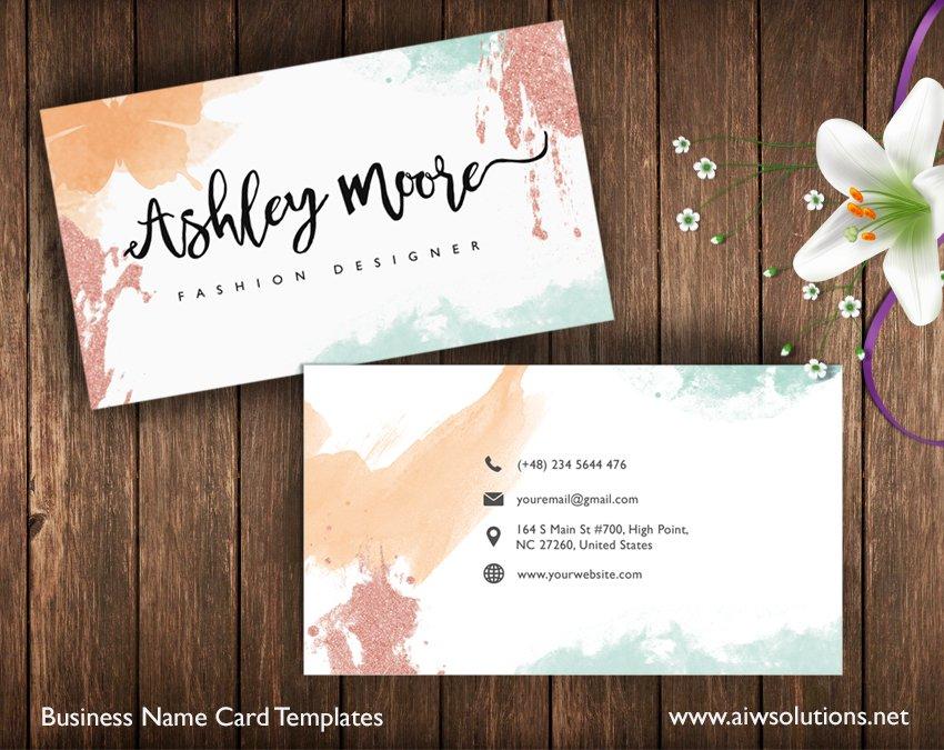 Name Card Template Business Card Templates Creative Market – Name Card
