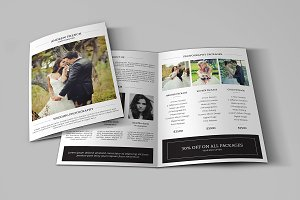 Wedding Photography Brochure-V509
