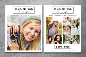 Photography Flyer Template-V285