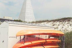 Ocean Kayaks & White Obelisk