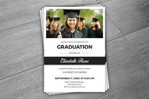 Graduation Announcement Card -V287