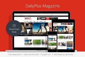 DailyPlus - News WordPress Theme