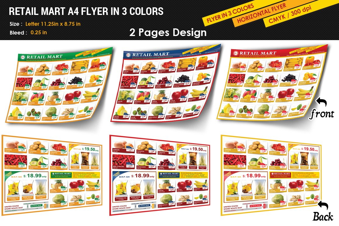 Supermarket Flyer Photos Graphics Fonts Themes Templates