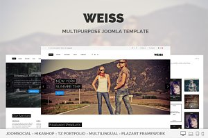 Weiss - Multipurpose Joomla Template