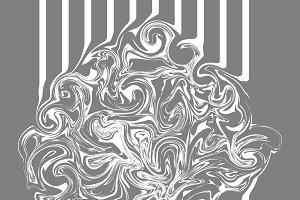 Abstract texture marble wavy design