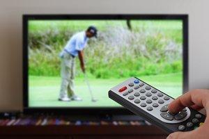 Tv remote control sports