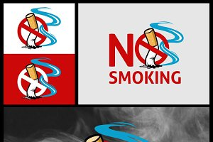 No Smoking vector