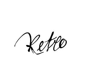 Calligraphy retro