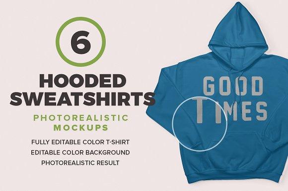 Download Hooded Sweatshirts Mockups
