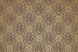 Background pattern design gold