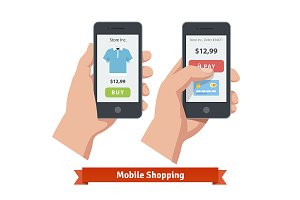 Mobile smartphone shopping