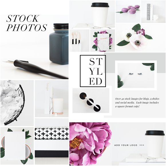Stock Photo Bundle   The Lovely One
