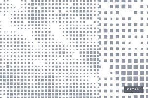 Geometric square pattern