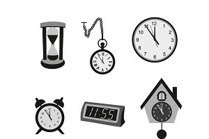 Different kinds of clocks