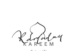 Islamic holiday Ramadan Kareem