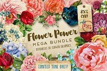 Flower Power Mega Bundle LAST DAY