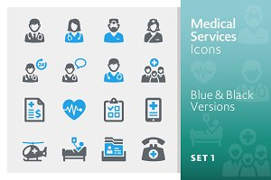 Medical Services Icons Set 1 - Sympa