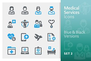 Medical Services Icons Set 2 - Sympa