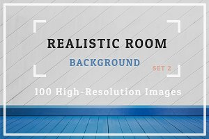 100 Realistic Room Background Set 2
