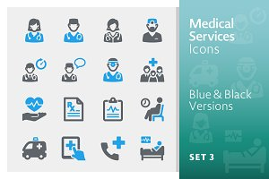 Medical Services Icons Set 3 - Sympa