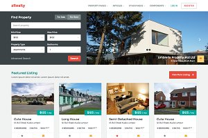 zRealty: Property Listing Site