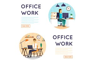 Business, office work, workplace.