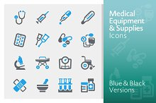 Medical Equipment & Supplies Icons