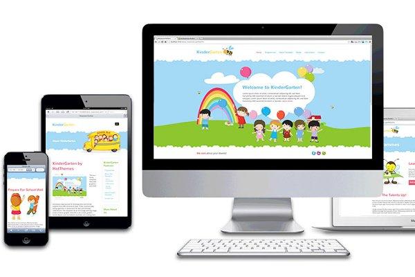 Joomla Themes - Hot Kindergarten