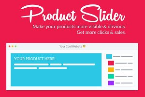 Responsive Product Slider