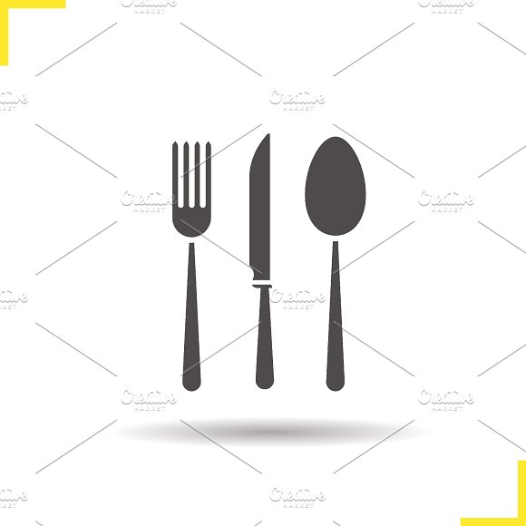Cutlery icon. Vector - Icons