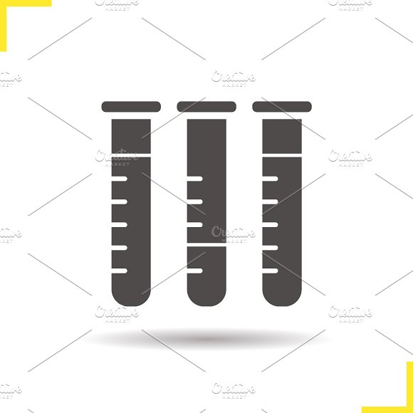 Test tubes icon. Vector - Icons