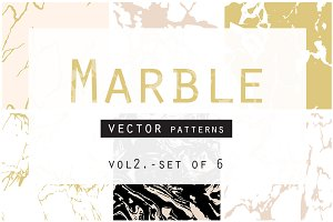 Marble Seamless Vector Patterns - 2