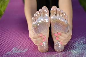 Glitter Toes