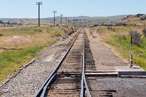 Railways line in New Zealand