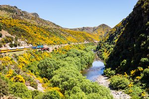 Taieri Gorge in New Zealand