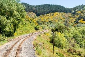 Taieri Gorge tourist railway NZ