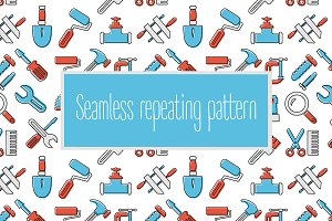 Seamless tools pattern